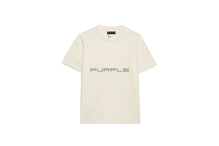 PURPLE JEANS PHOTON WHITE TEE P101