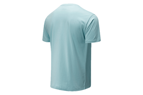NB ATHLETIC FRIENDS TURQUOISE TEE - MT01516