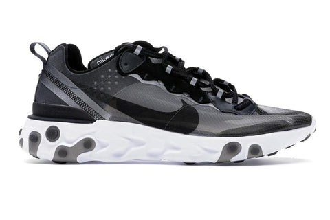 NIKE REACT ELEMENT 87 - AQ1090-001 MENS FOOTWEAR NIKE