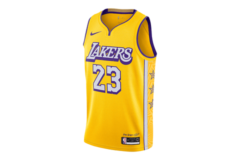 LEBRON JAMES LAKERS – CITY EDITION - AV4646-729