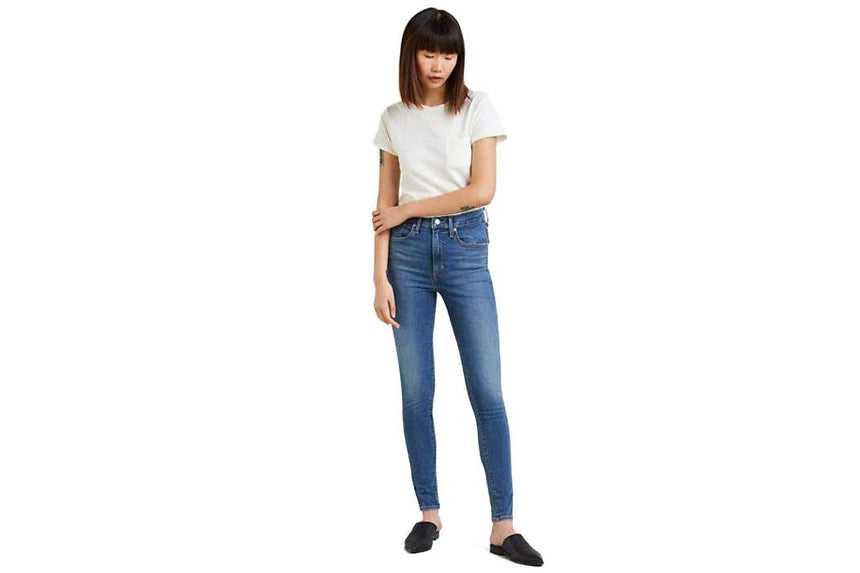 MILE HIGH SUPER SKINNY WOMENS SOFTGOODS LEVIS