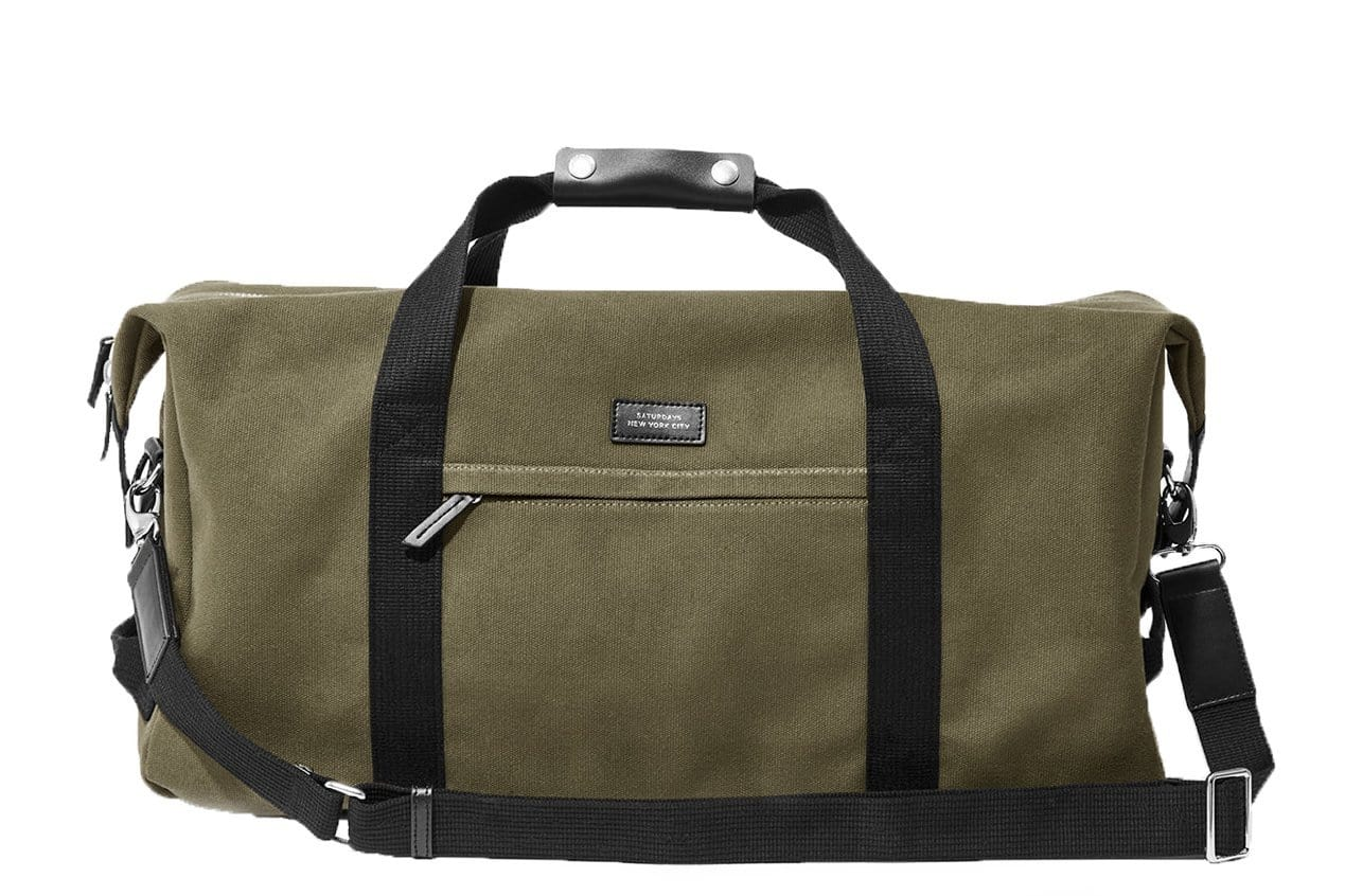 NORFOLK HOLD ALL BAG OLIVE BAGS SATURDAYS NYC M21801NF01 OLIVE OS