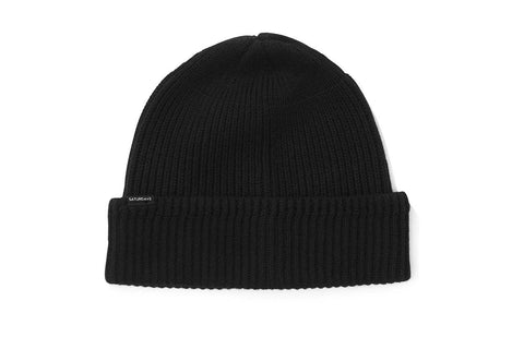 1X1 RIB BEANIE HATS SATURDAYS NYC