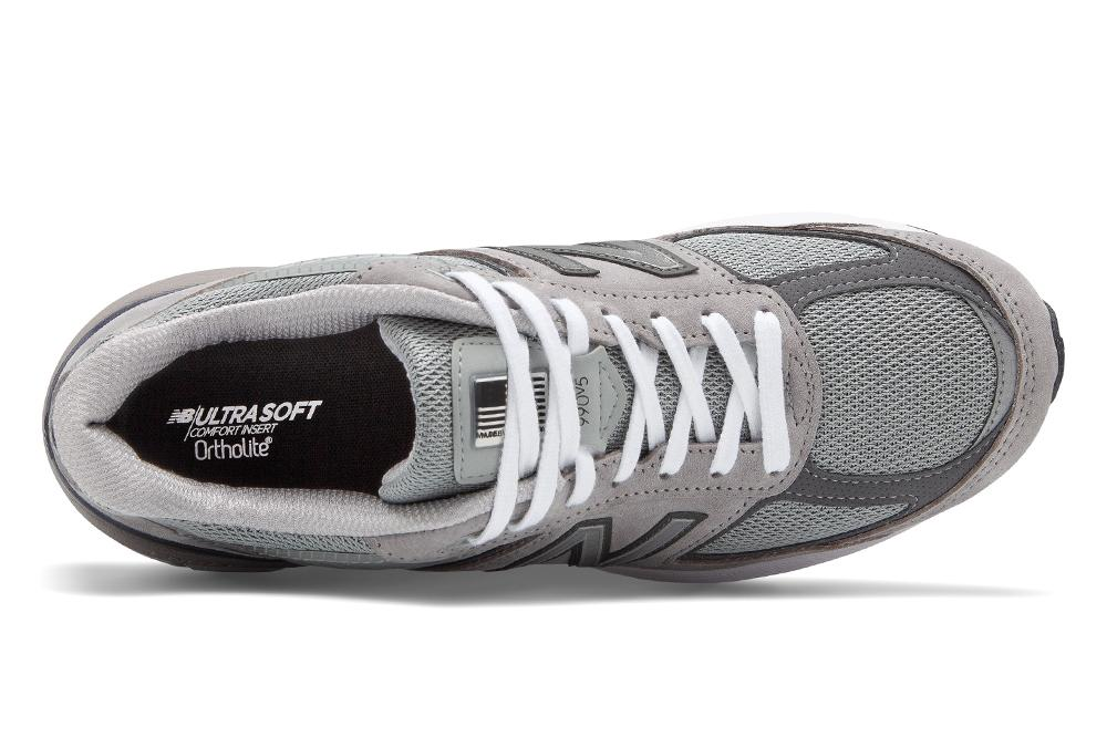 NEW BALANCE 990V5 OG GREY - M990GL5 MENS FOOTWEAR NEW BALANCE