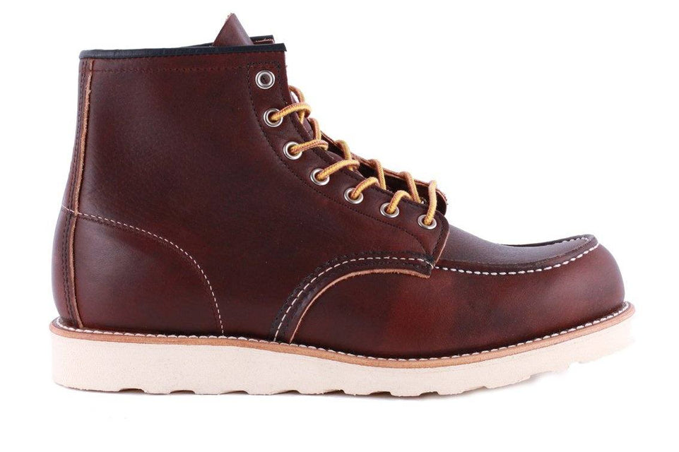 "6"" MOC 08138-1 MENS FOOTWEAR RED WING SHOES"