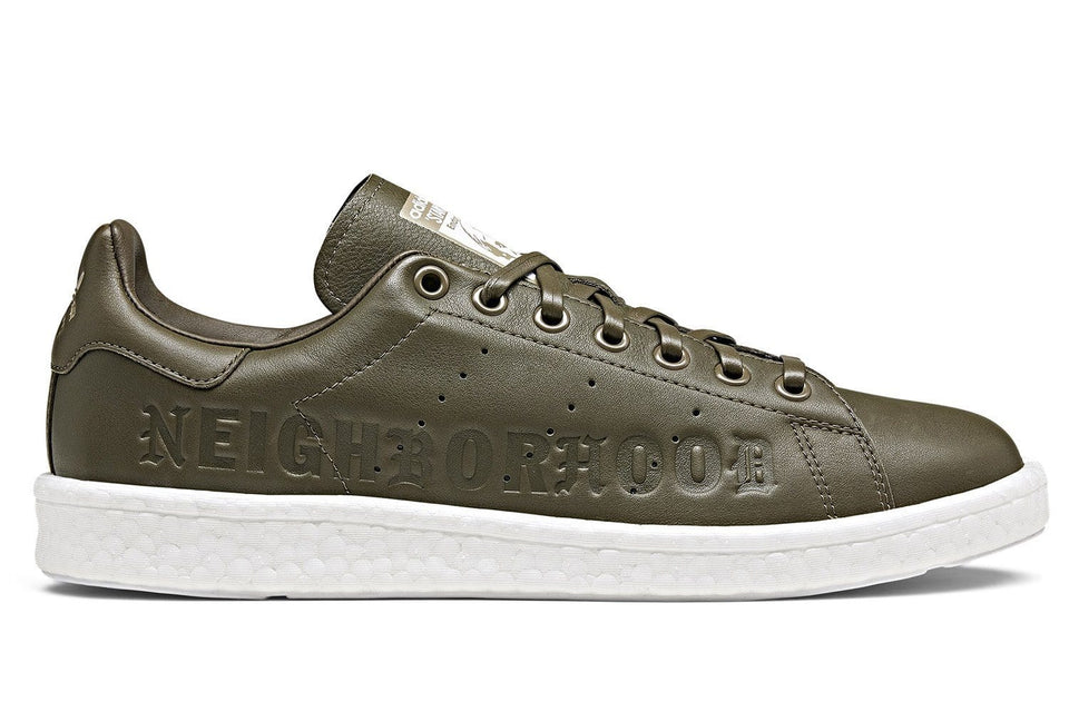 STAN SMITH BOOST NBHD - B37342 MENS FOOTWEAR ADIDAS SUPCOL/FTWWHT 8