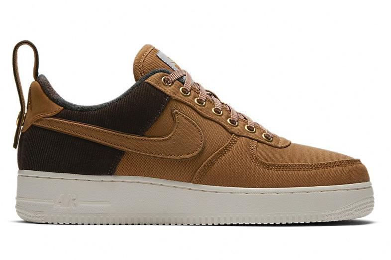 AIR FORCE 1 '07 PRM WIP - AV4113 200 MENS FOOTWEAR NIKE