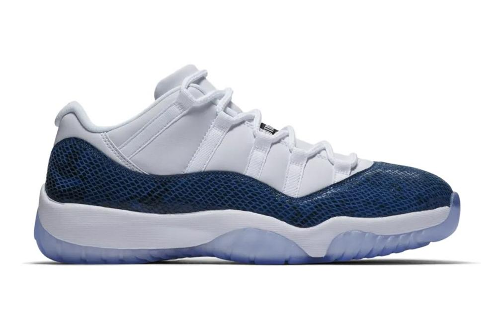 reputable site d98af c0d03 AIR JORDAN 11 RETRO LOW LE - CD6846-102 MENS FOOTWEAR JORDAN