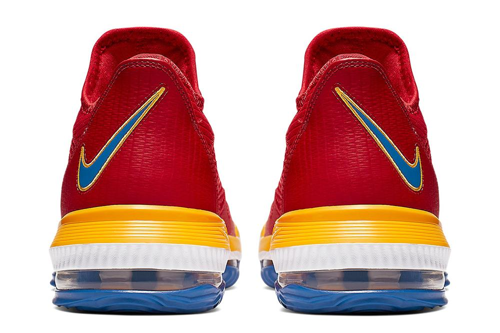 LEBRON XVI LOW - CK2168-600 MENS FOOTWEAR NIKE