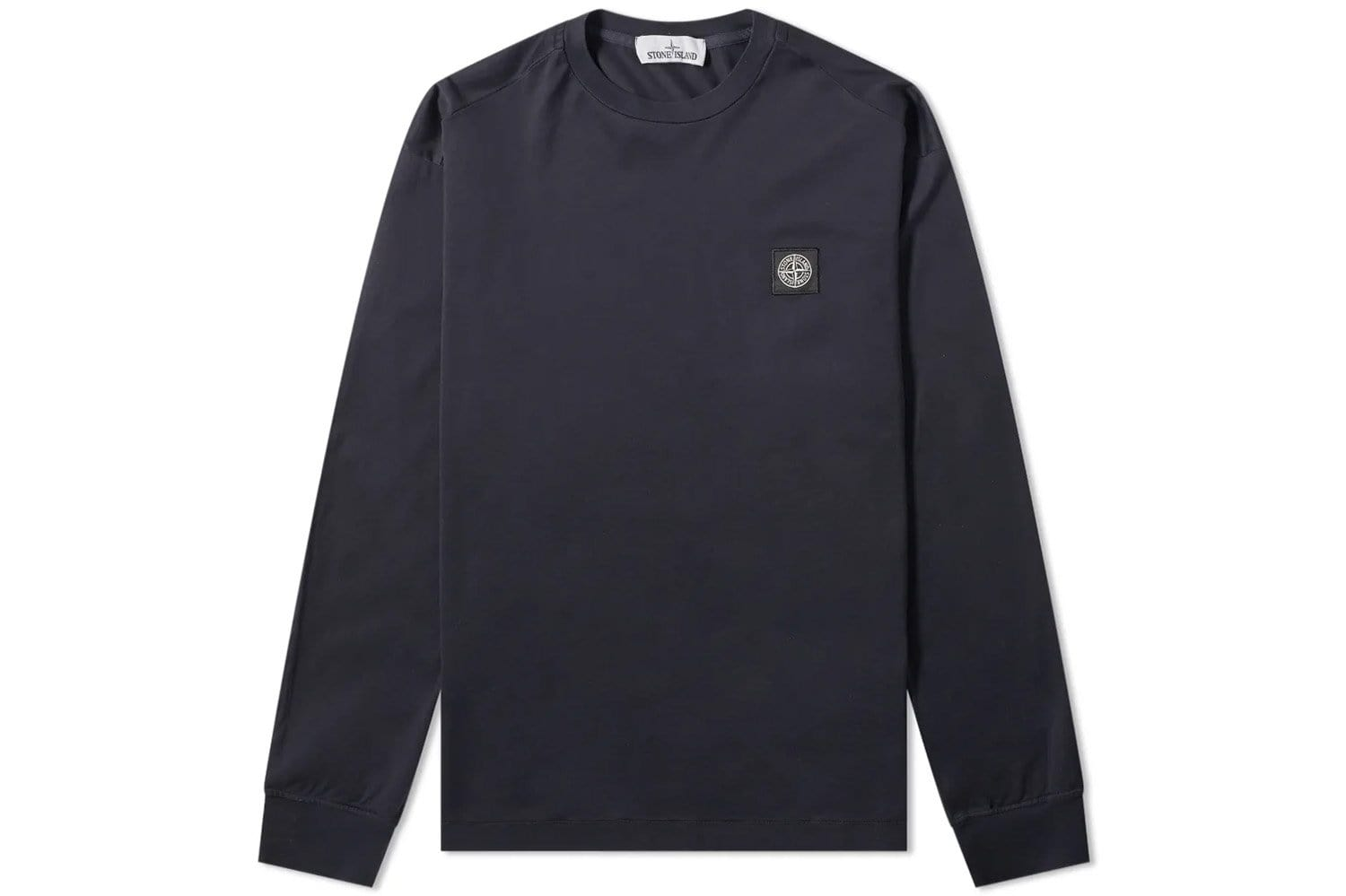 SMALL PATCH LONG SLEEVE TEE - MO701522713 MENS SOFTGOODS STONE ISLAND NAVY L