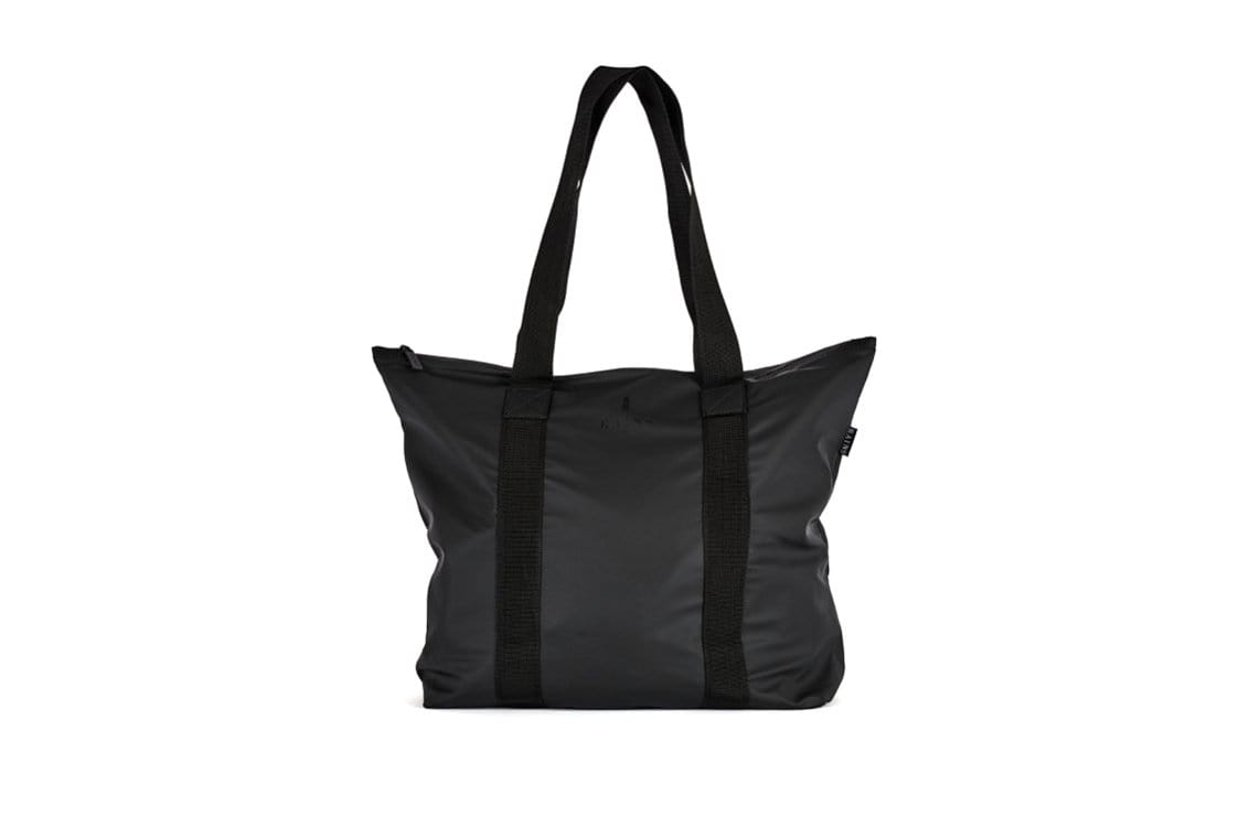 TOTE BAG RUSH BAGS RAINS BLACK ONE SIZE