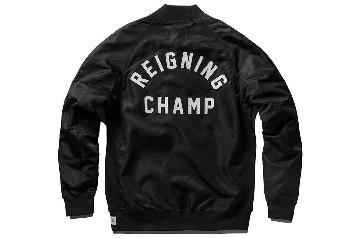 LT WT EMBR SATIN STADIUM JACKET RC-4075 MENS SOFTGOODS REIGNING CHAMP
