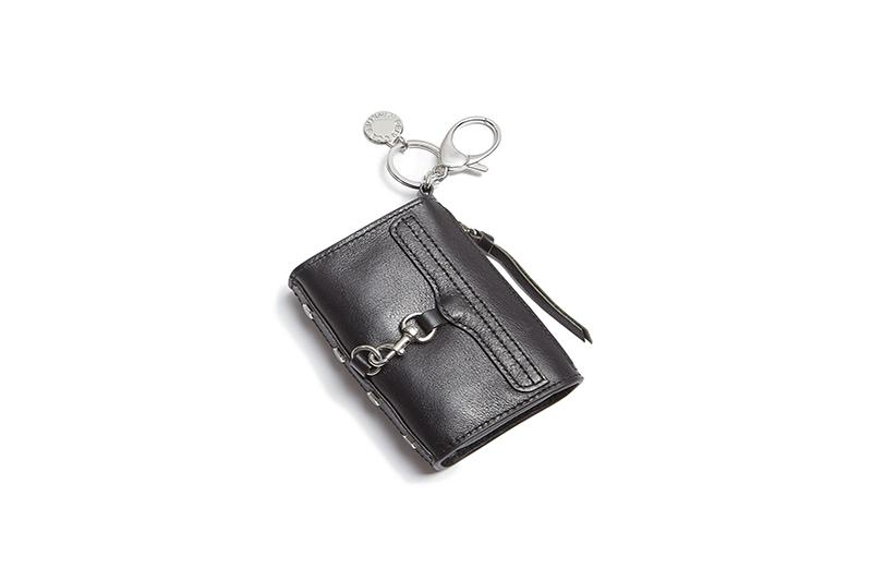 MINI MAC KEY FOB WOMENS ACCESSORIES REBECCA MINKOFF BLACK MINI