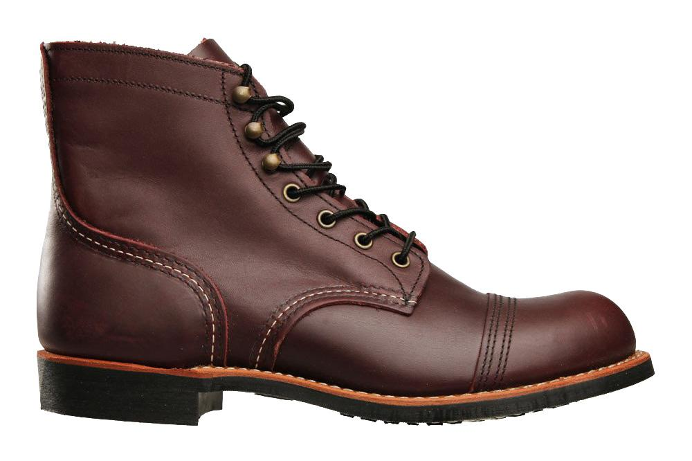 IRON RANGER 08119-0 MENS FOOTWEAR RED WING SHOES OXBLOOD 8