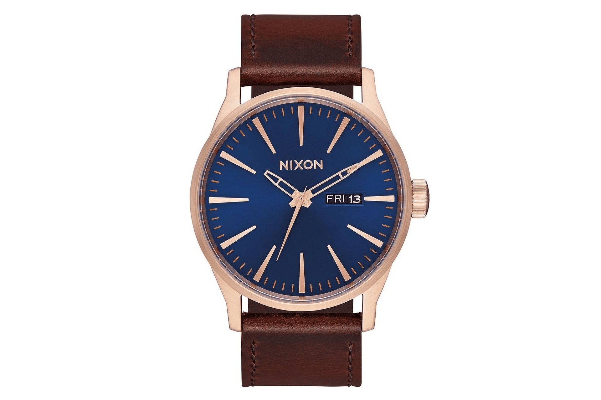 SENTRY LEATHER WATCHES NIXON