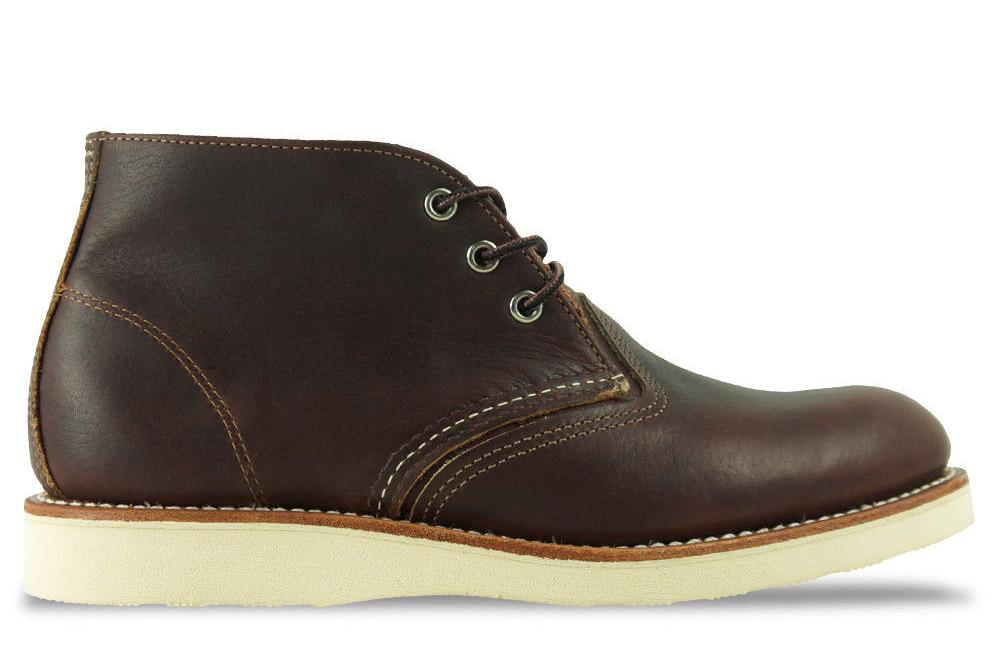 CHUKKA 03141-2 MENS FOOTWEAR RED WING SHOES DARK BROWN 8.5