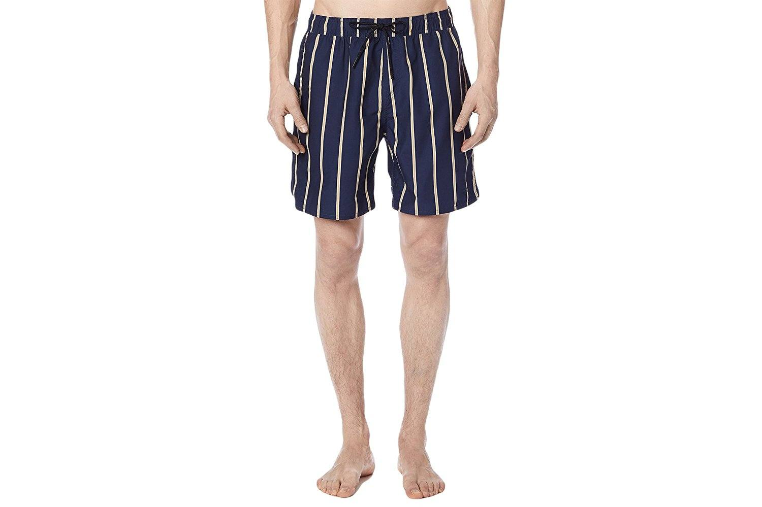TIMOTHY STRIPE SWIM SHORT MENS SOFTGOODS SATURDAYS NYC