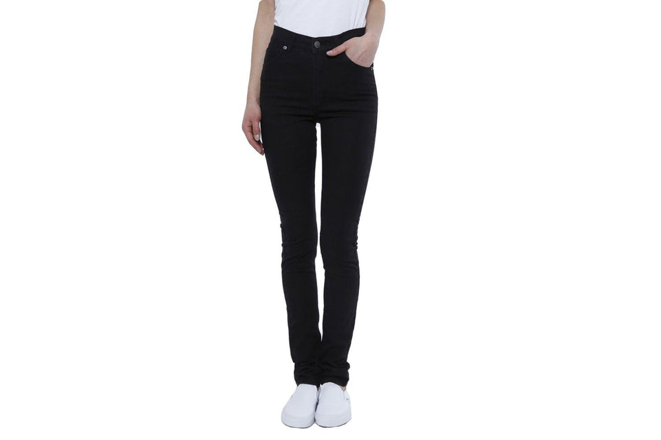 SECOND SKIN WOMENS SOFTGOODS CHEAP MONDAY vERY STRETCH BLACK 24/32