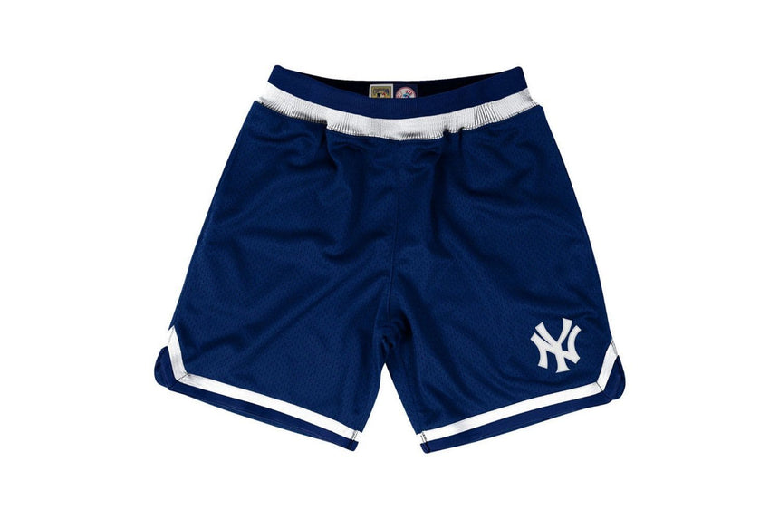 NY MLB PLAYOFF WIN SHORTS - 345B41SANYYGH MENS SOFTGOODS MITCHELL & NESS