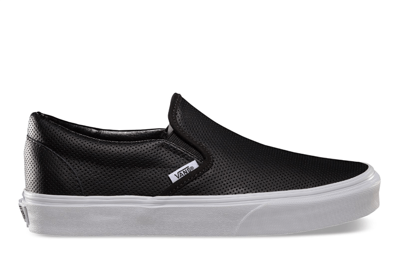CLASSIC SLIP-ON (PERF LEATHER) WOMENS FOOTWEAR VANS