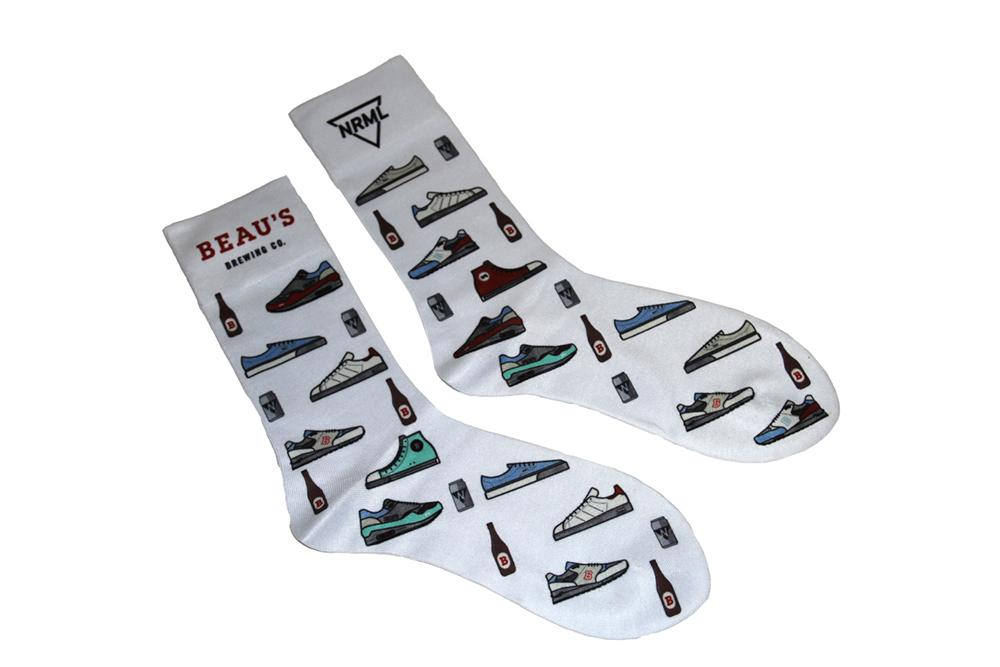 BEAU'S X NRML SOCKS ACCESSORIES NRML