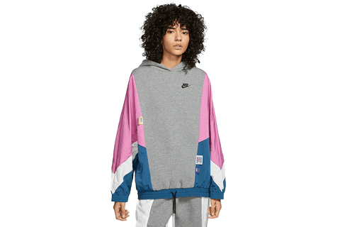 NIKE SPORTSWEAR ICON CLASH HOODIE - CJ2029-091 WOMENS SOFTGOODS NIKE