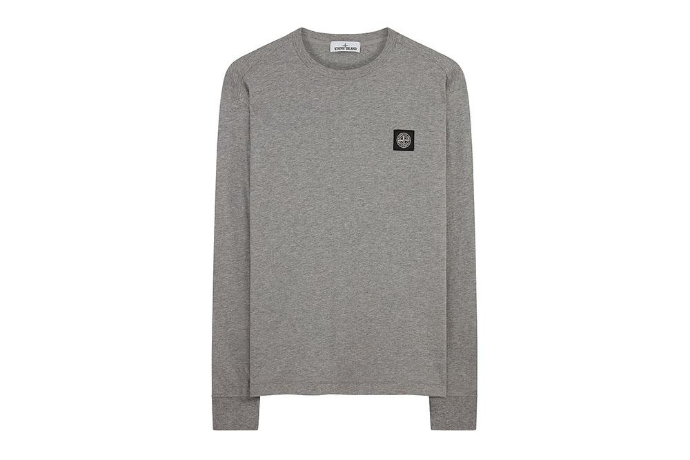 SMALL PATCH LONG SLEEVE - MO711522713 MENS SOFTGOODS STONE ISLAND