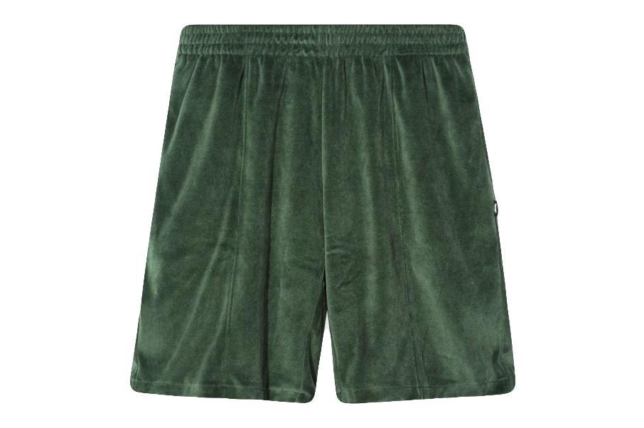 VELOUR SHORTS MENS SOFTGOODS STUSSY GREEN L 112218