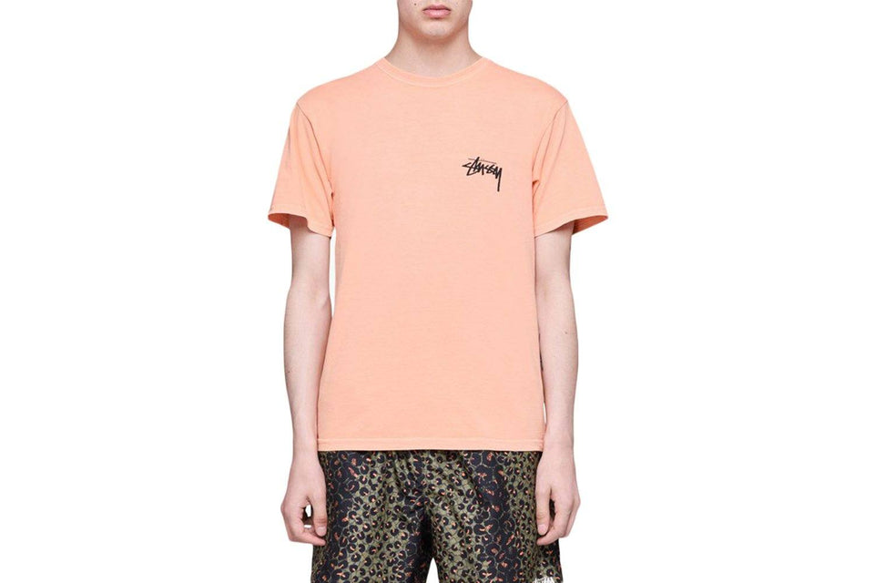 8 BALL PIG DYED TEE - 1904394 MENS SOFTGOODS STUSSY