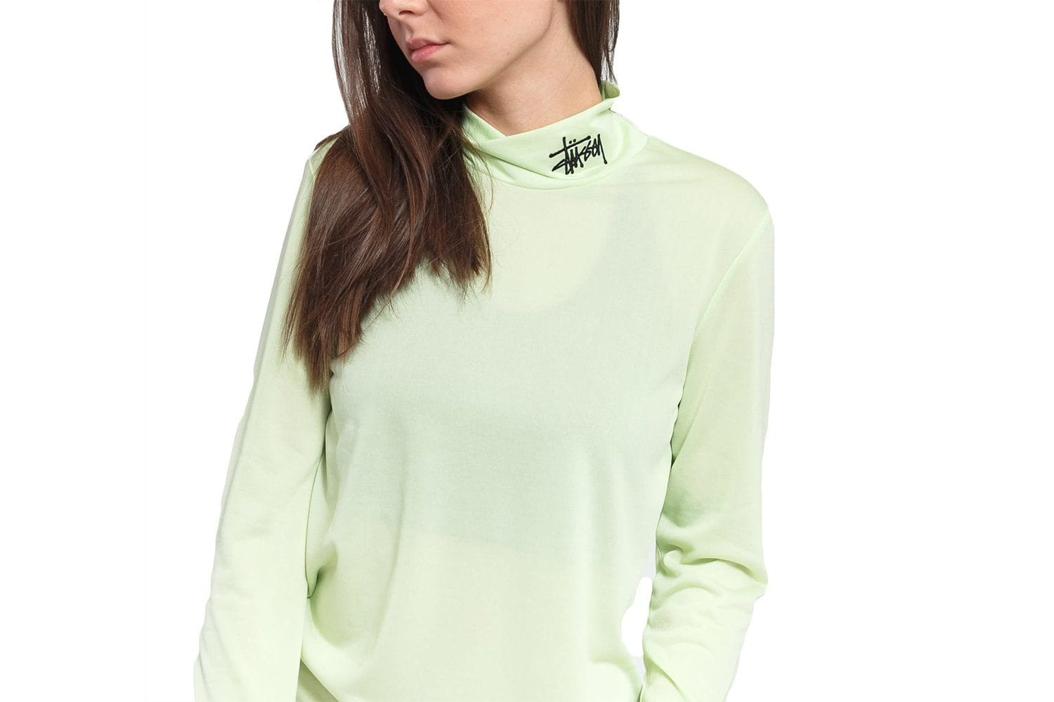 MONTY TISSUE MOCK NECK - 214512 WOMENS SOFTGOODS STUSSY