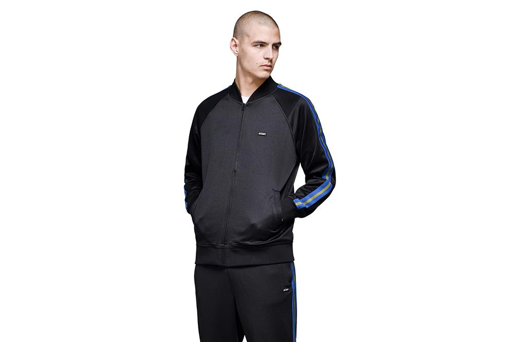 POLY TRACK JACKET - 115400 MENS SOFTGOODS STUSSY
