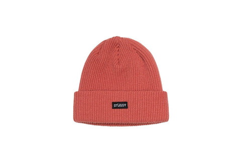 STUSSY SMALL PATCH WATCH CAP BEANIE - 132904