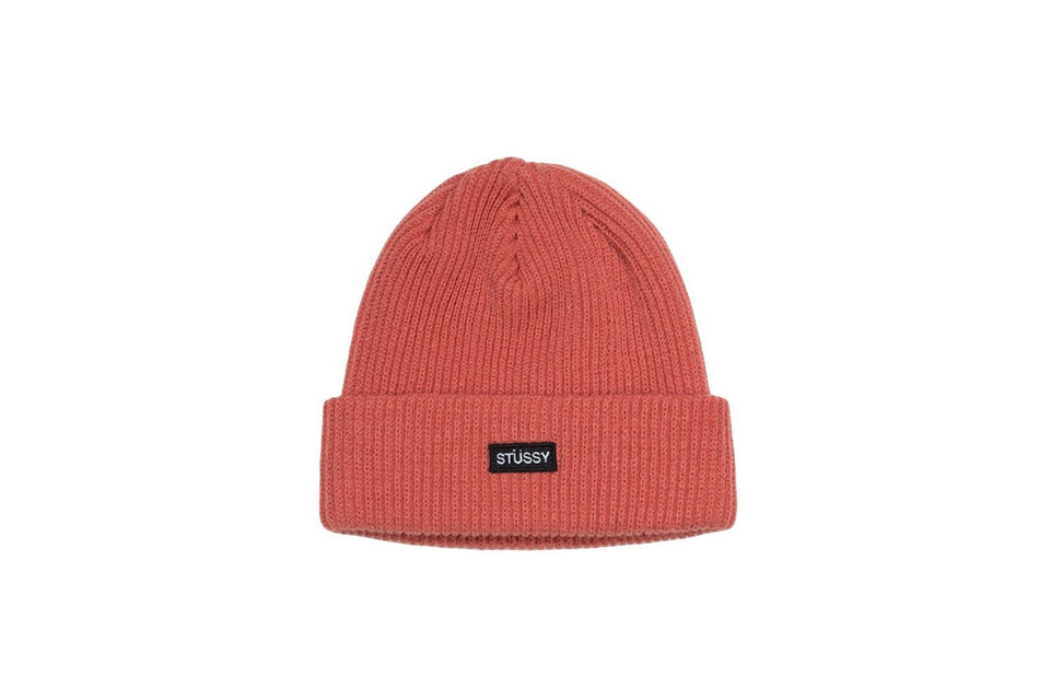 STUSSY SMALL PATCH WATCH CAP BEANIE - 132904 HATS STUSSY