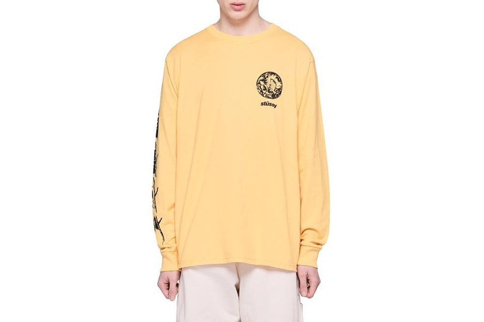 SPIRIT GUIDE LS TEE - 1994350 MENS SOFTGOODS STUSSY