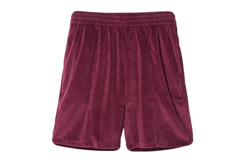VELOUR SHORTS MENS SOFTGOODS STUSSY BURGUNDY M 112218