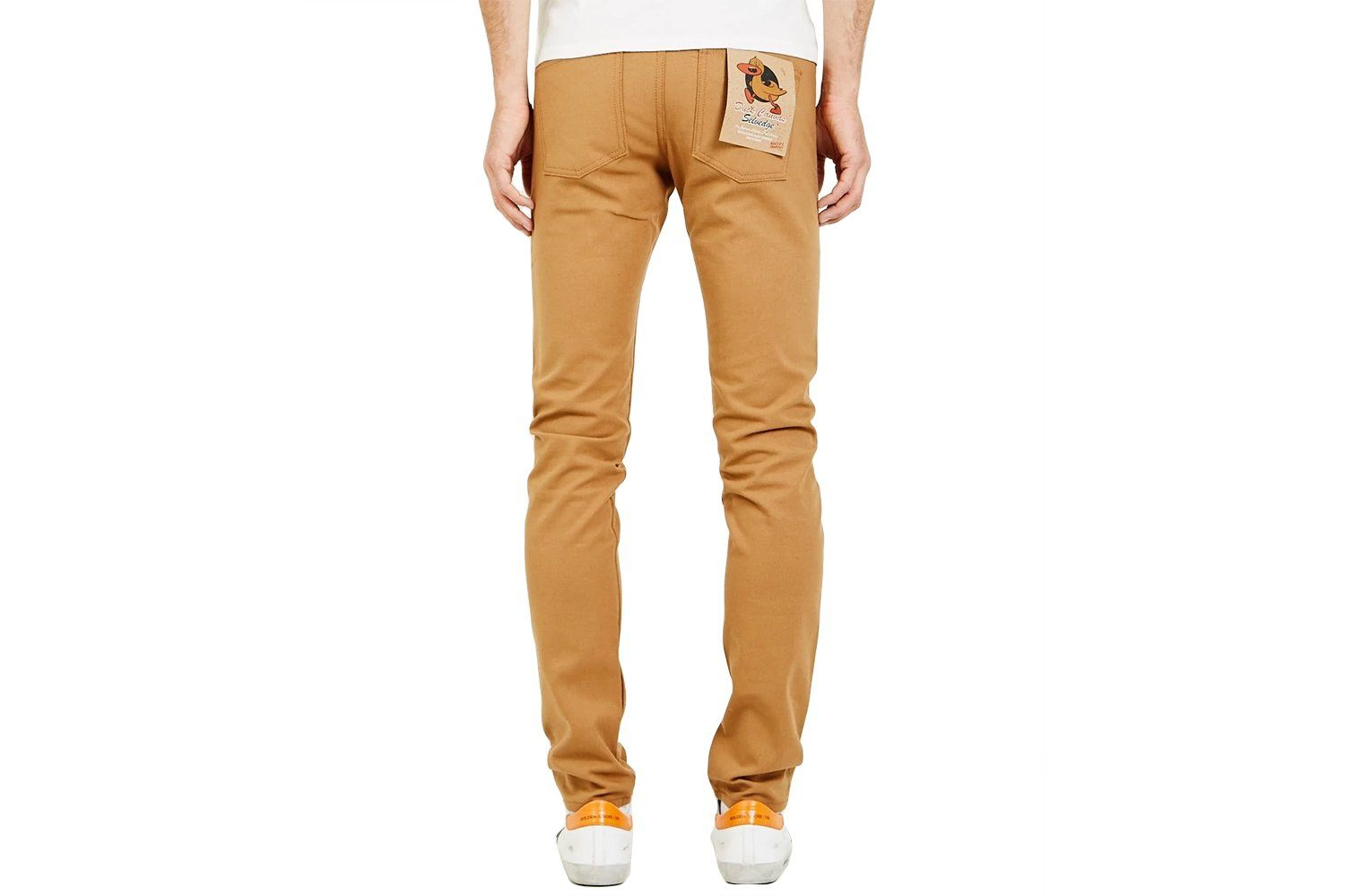 SUPERGUY DUCK CANVAS SELVEDGE-101021400 MENS SOFTGOODS NAKED & FAMOUS