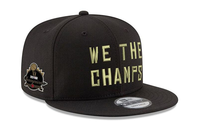 TORONTO RAPTORS WTC TROPHY CHAMPS HATS NEW ERA