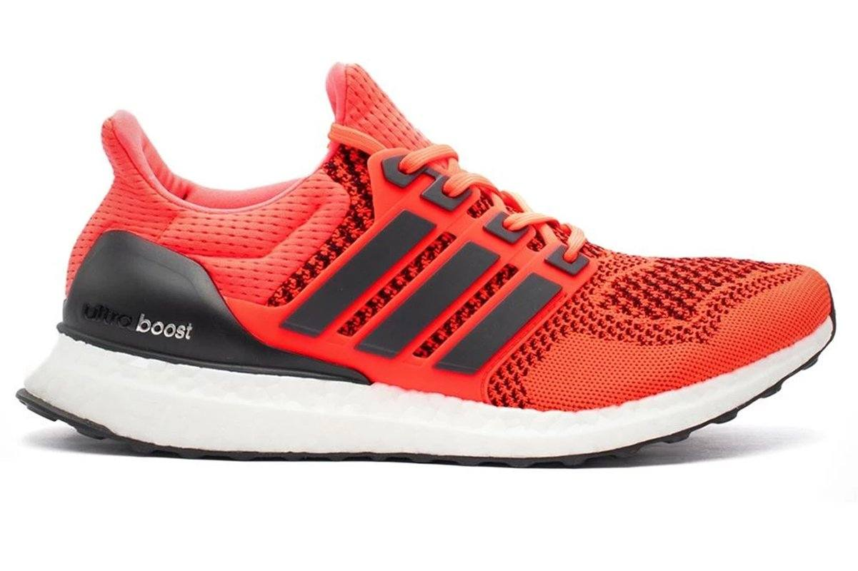 ULTRABOOST 1.0 SOLAR RED - FU6648 MENS FOOTWEAR ADIDAS