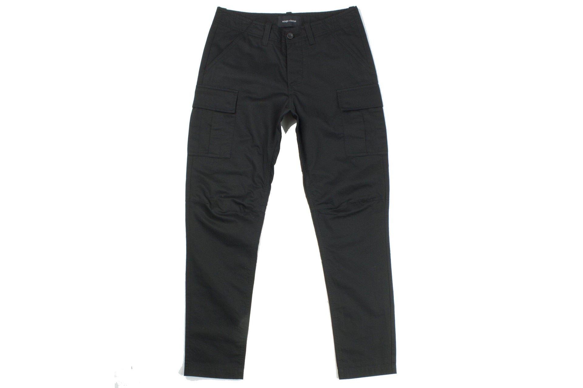 WOVEN UTILITY LINEN BDU PANT BLACK MENS SOFTGOODS WINGS+HORNS BLACK 30 WI-5214