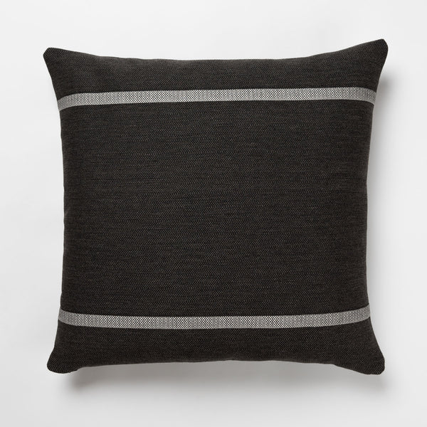 PILAR Charcoal Outdoor Pillow