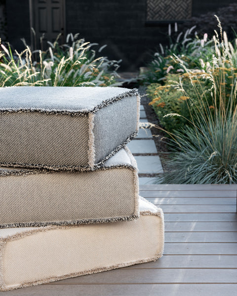 Cesta Outdoor Floor Cushion - Linen