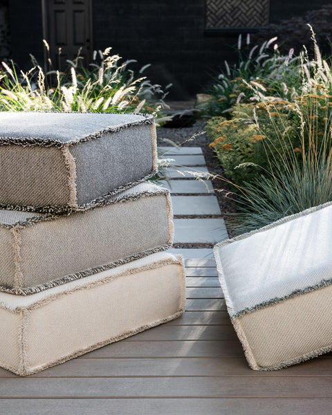 Cesta Outdoor Floor Cushion - Coal