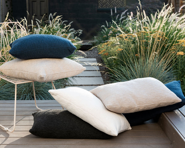 LAZO Snow Outdoor Pillow