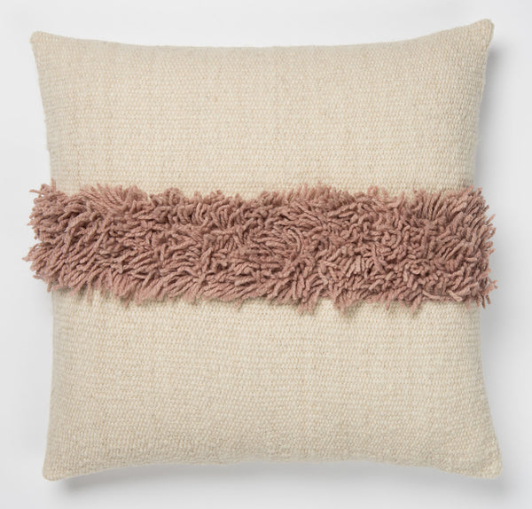 Puna Handwoven Pillow - Pink