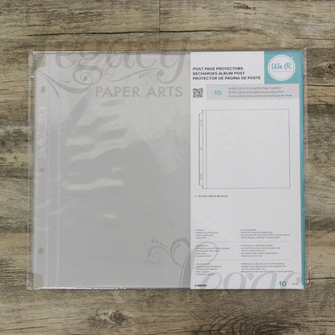 "We R Memory Keepers 12""x 12"" Post Page Protectors"