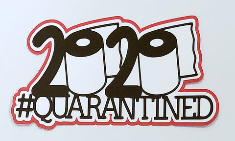 Covid-19 Diecut Collection - 2020 #Quarantined