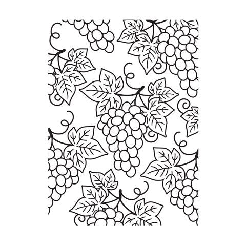 "Darice Embossing Folder - Grapes Background (4.25"" x 5.75"")"