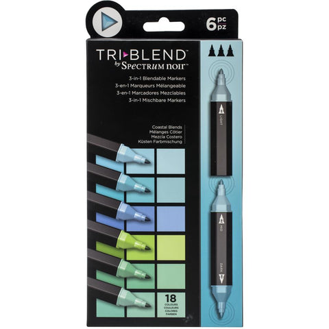 TriBlend Markers - 6 pack Assortments