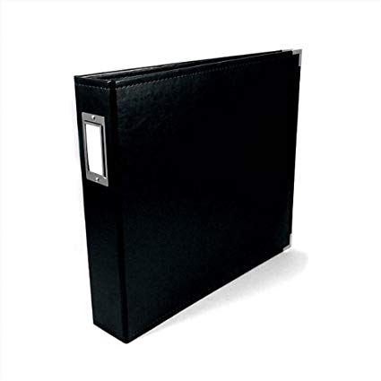 "8.5""x 11"" Album: 3-ring Classic Leather Scrapbook by We R Memory Keepers"