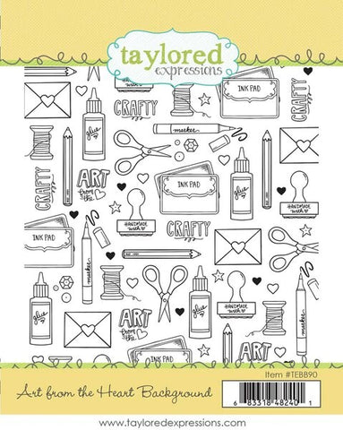 Taylored Expressions Art From The Heart Background